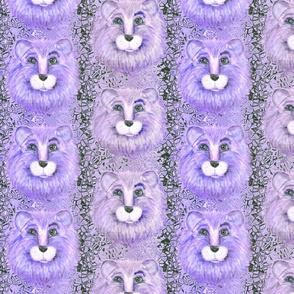 BLUE EYED PURPLE LION PSMGE