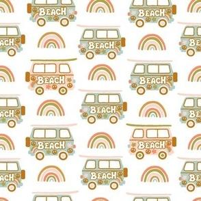 60s Baby Surf  Caravan (pastel)