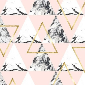 Marble triangles