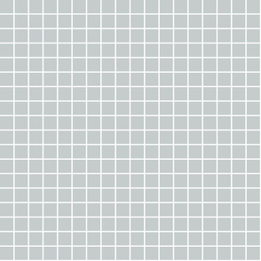 """sterling grey windowpane grid 1"""" reversed square check graph paper"""
