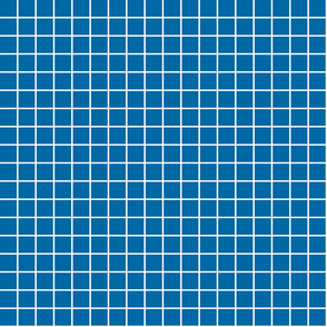 "royal blue windowpane grid 1"" reversed square check graph paper"