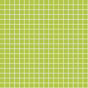 """lime green windowpane grid 1"""" reversed square check graph paper"""