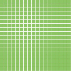 "apple green windowpane grid 1"" reversed square check graph paper"