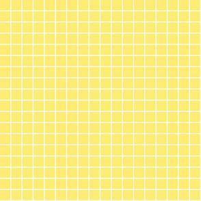 "lemon yellow windowpane grid 1"" reversed square check graph paper"