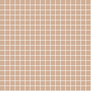 "toasted nut windowpane grid 1"" reversed square check graph paper"