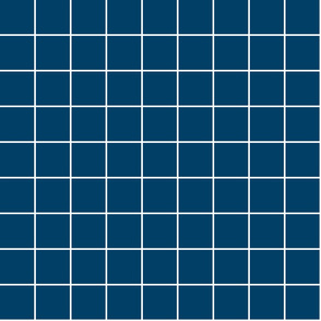 """navy blue windowpane grid 2"""" reversed square check graph paper"""