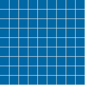 "royal blue windowpane grid 2"" reversed square check graph paper"