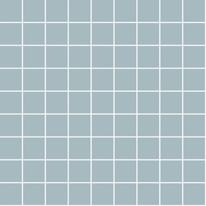 "slate blue windowpane grid 2"" reversed square check graph paper"