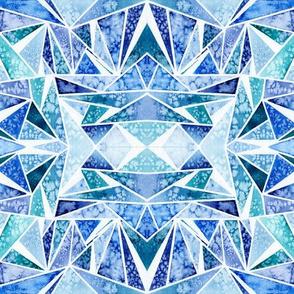 Blue Facets