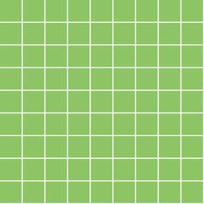 "apple green windowpane grid 2"" reversed square check graph paper"