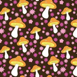 mushrooms (brown)