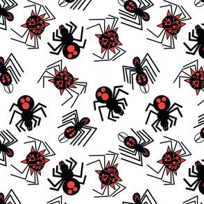 Tossed Spiders