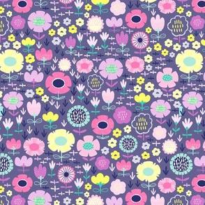 Dark Spring Florals