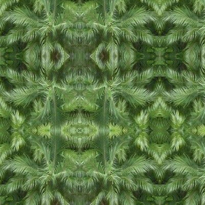 Palms - green