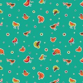 Happy Ditsy Birds