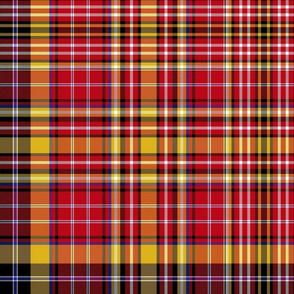 "Ogilvie of Strathallan red/yellow asymmetrical, 12"""