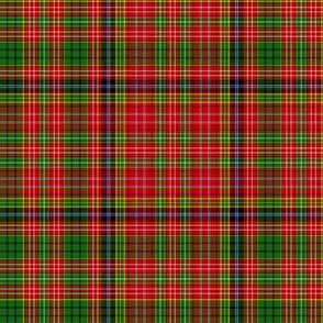 "Ogilvie 1831 red/green tartan, 12"""