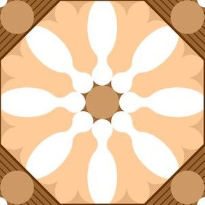00735593 : skittle flower tile