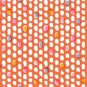 Painterly Overlay - Coral