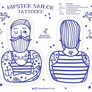 Hipster Sailor Tattooed