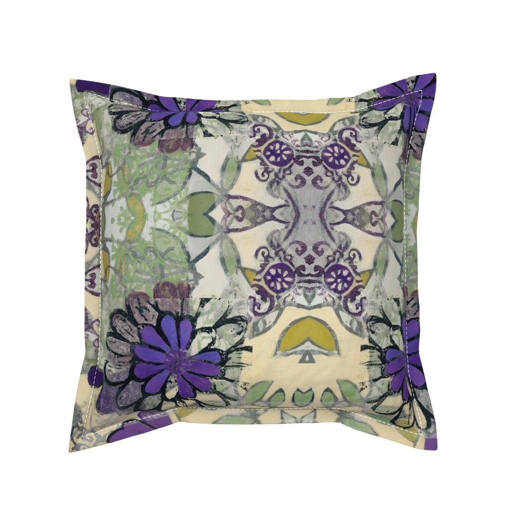 Serama Throw Pillow featuring royal_bouquet by maria_pezzano