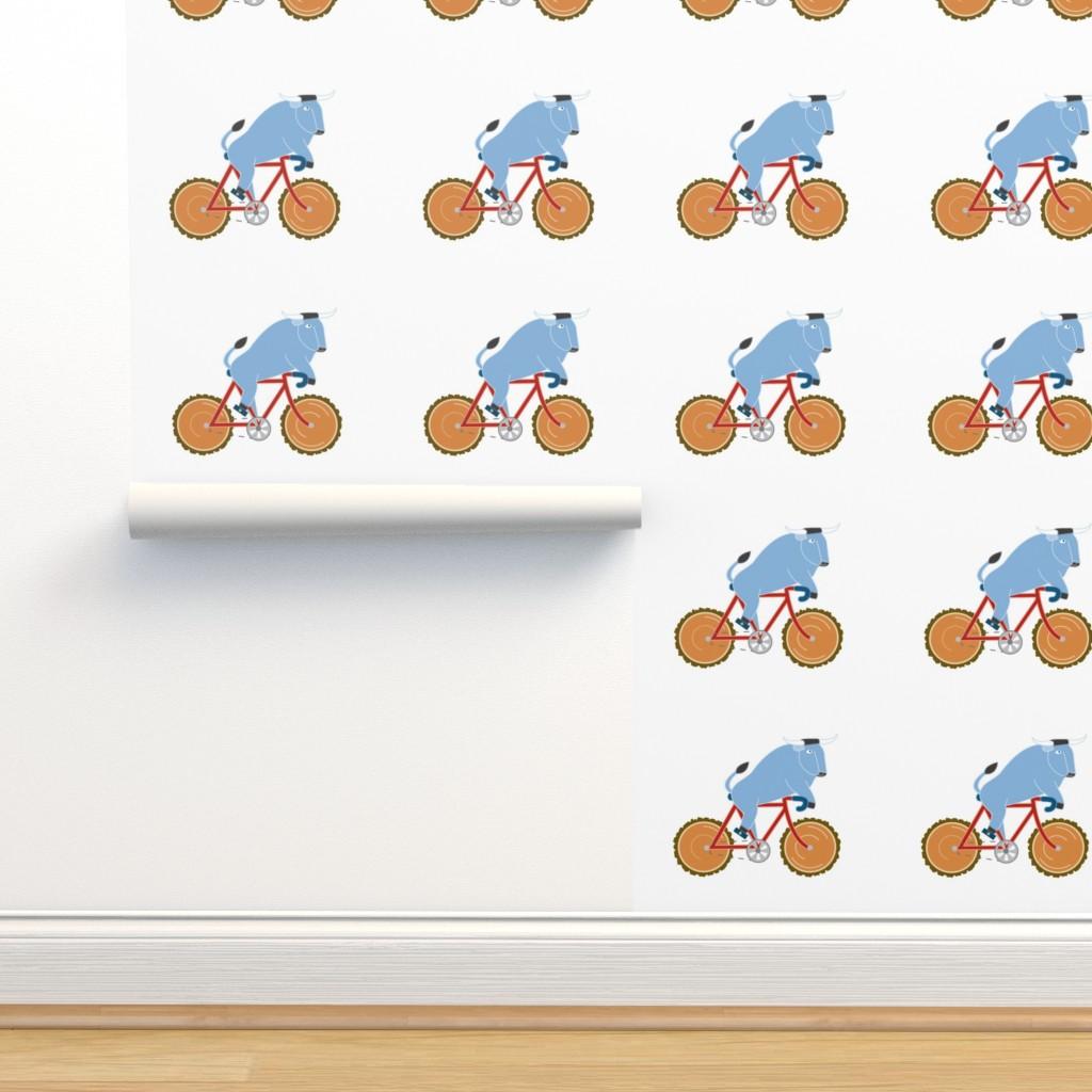 Isobar Durable Wallpaper featuring Babe Bike panel by cindylindgren
