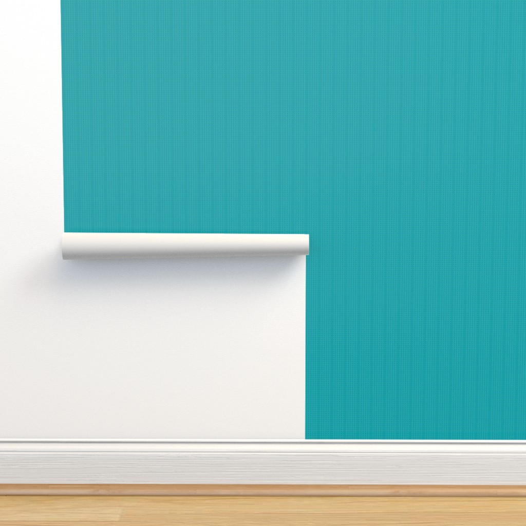 Isobar Durable Wallpaper featuring Dashes in turquoise and lime, medium by cindylindgren