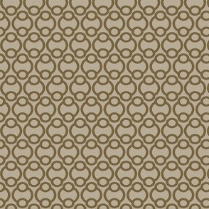 Links in taupe, medium
