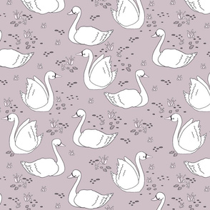 Swan Summer // by Sweet Melody Designs