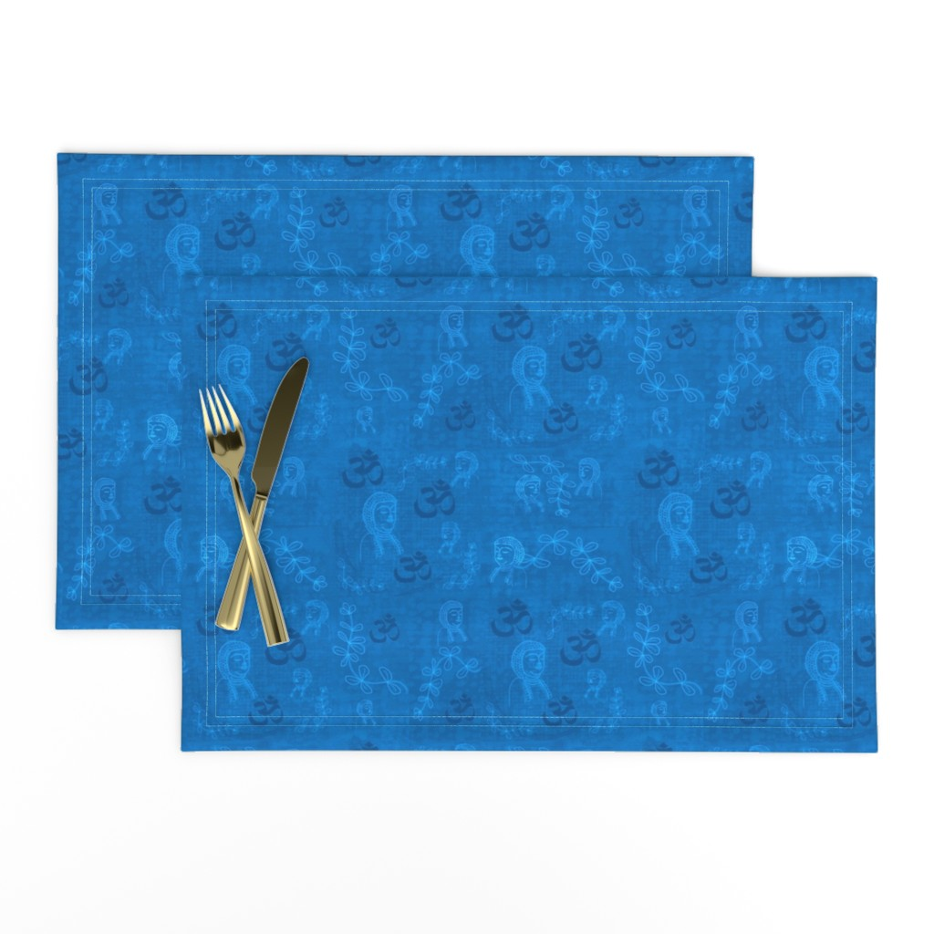 Lamona Cloth Placemats featuring Dim All the Lights by gargoylesentry