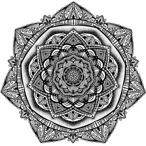 Fat Quarter Mandala - Deanna