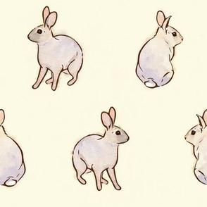 Wild Rabbits - Cream [Large]