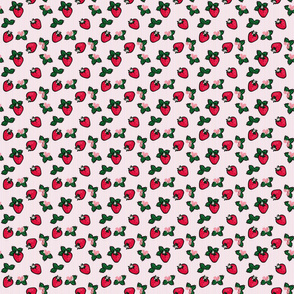 Strawberry Garden Stripes 2