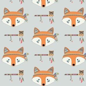 Southwest Fox Baby Nursery – Cute Tribal Animals GingerLous