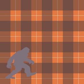 bigfoot plaid-orange