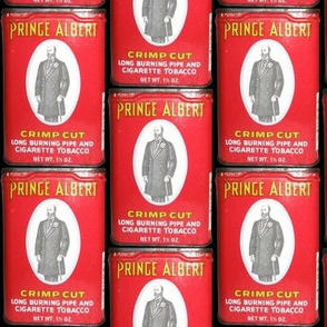 Prince Albert in a can.