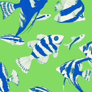 Reef fish (lime)
