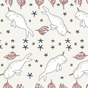 Unicorn Of The Sea // by Sweet Melody Designs