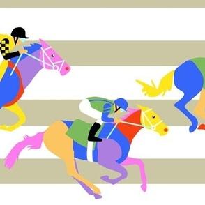 Horse Racing Chevron Style