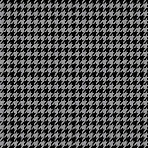 Black and Grey Houndstooth Small