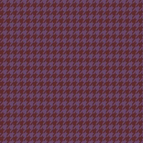 Violet Houndstooth Small