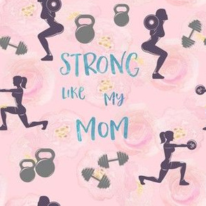 Strong mom, gym and fitness, crossfit,