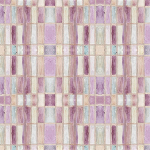 rectangle watercolor  mauve