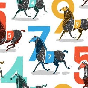 Race Horses [Medium]