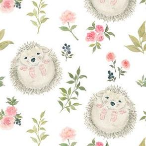 Sweet Little Hedgehog