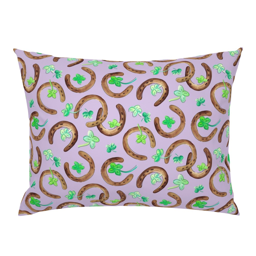 Campine Pillow Sham featuring Go Lucky Go!!! by sarahcatherinedesignsinc
