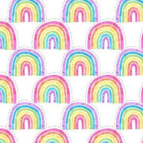 rainbow arch white MINI