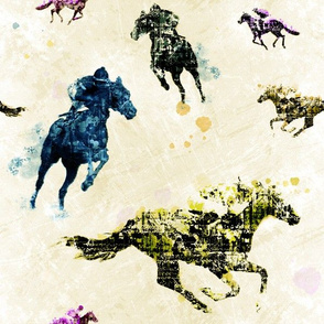 Courses de chevaux (Color 2)