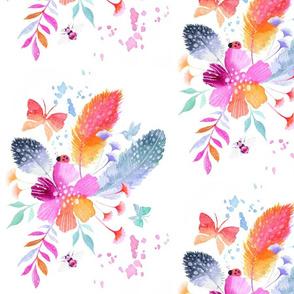 Feathers + Butterflies