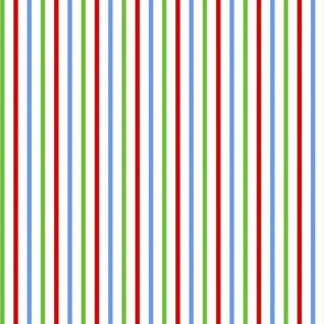 Red Green And Blue Stripes